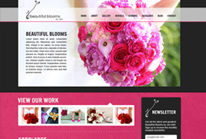 Beautiful Blooms by Jen website