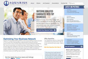 Aquarius Web Design and development Toledo, Ohio