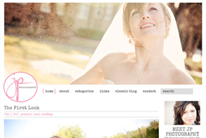 JP Photography - website by toledo's best web designer developer Ampersand Sarah Womack